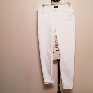 JCrew White Jeans , wore and washed once.